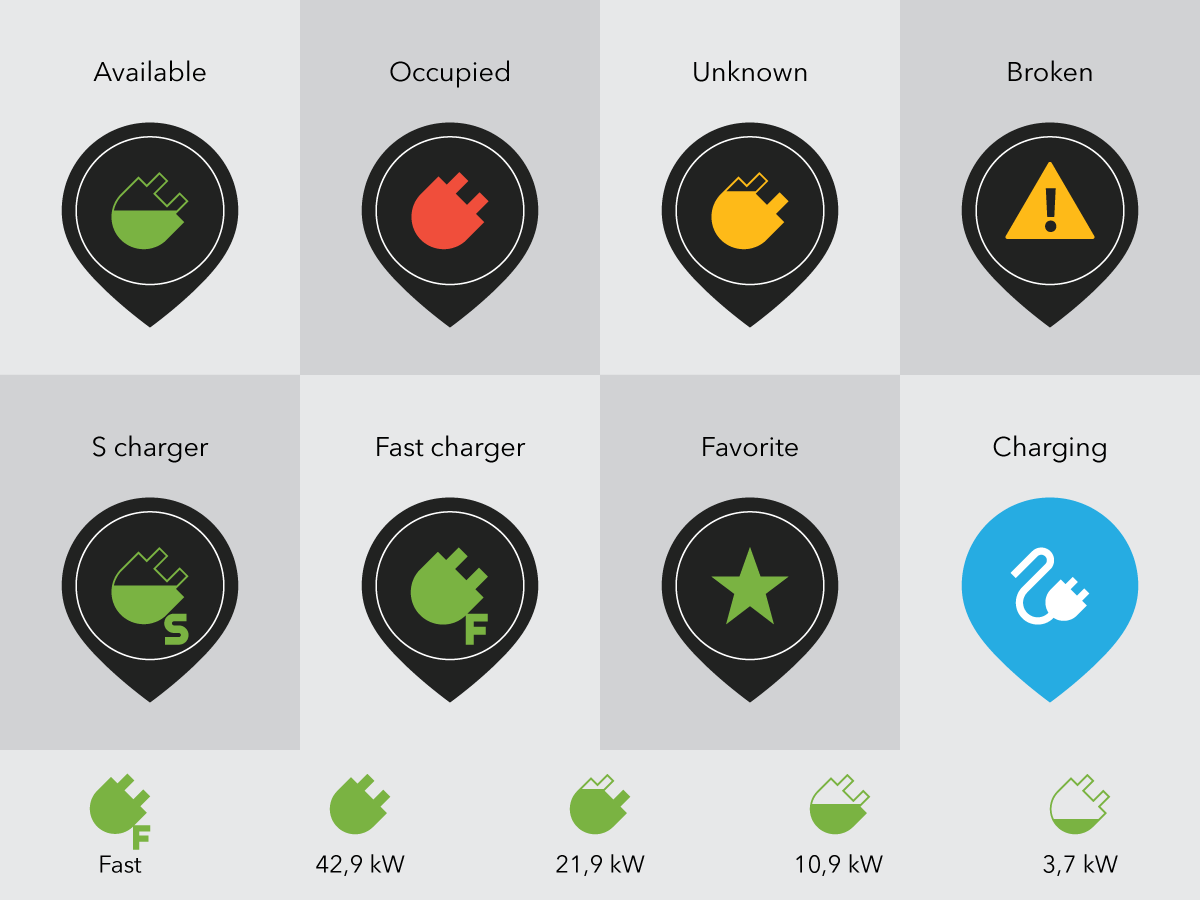 E-car charger app