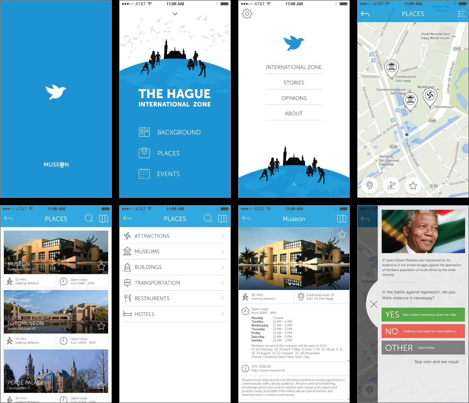 The Hauge Peace App